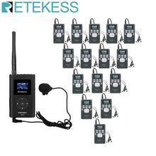 1 FM משדר FT11 + 15Pcs FM רדיו מקלט PR13 אלחוטי קול שידור מערכת מנחה הכנסייה ישיבות הדרכה