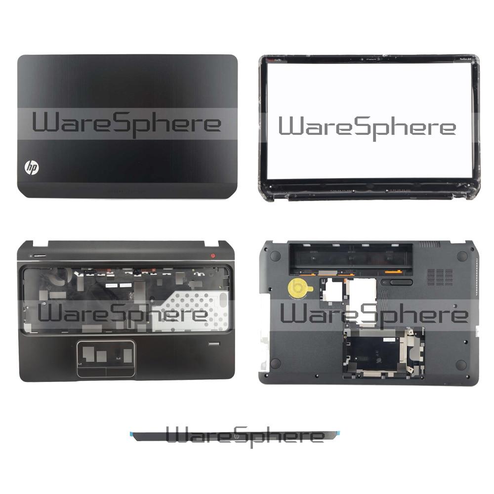 New For HP DV6-7000 LCD Back Cover Bezel Palmrest Bottom Case For HP Pavilion DV6-7000 682047-001 682052-001Black