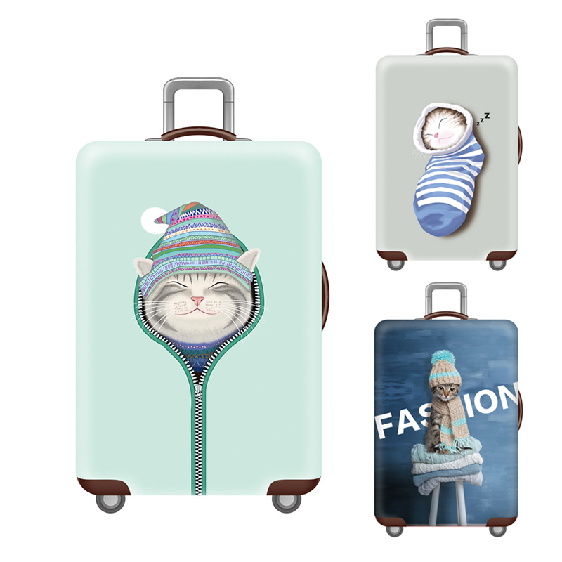 Travel Suitcase Protective Cover Cover For 18-28inch Luggage Cover Trolley Luggage Accessories Case Cover Travel  Accessories