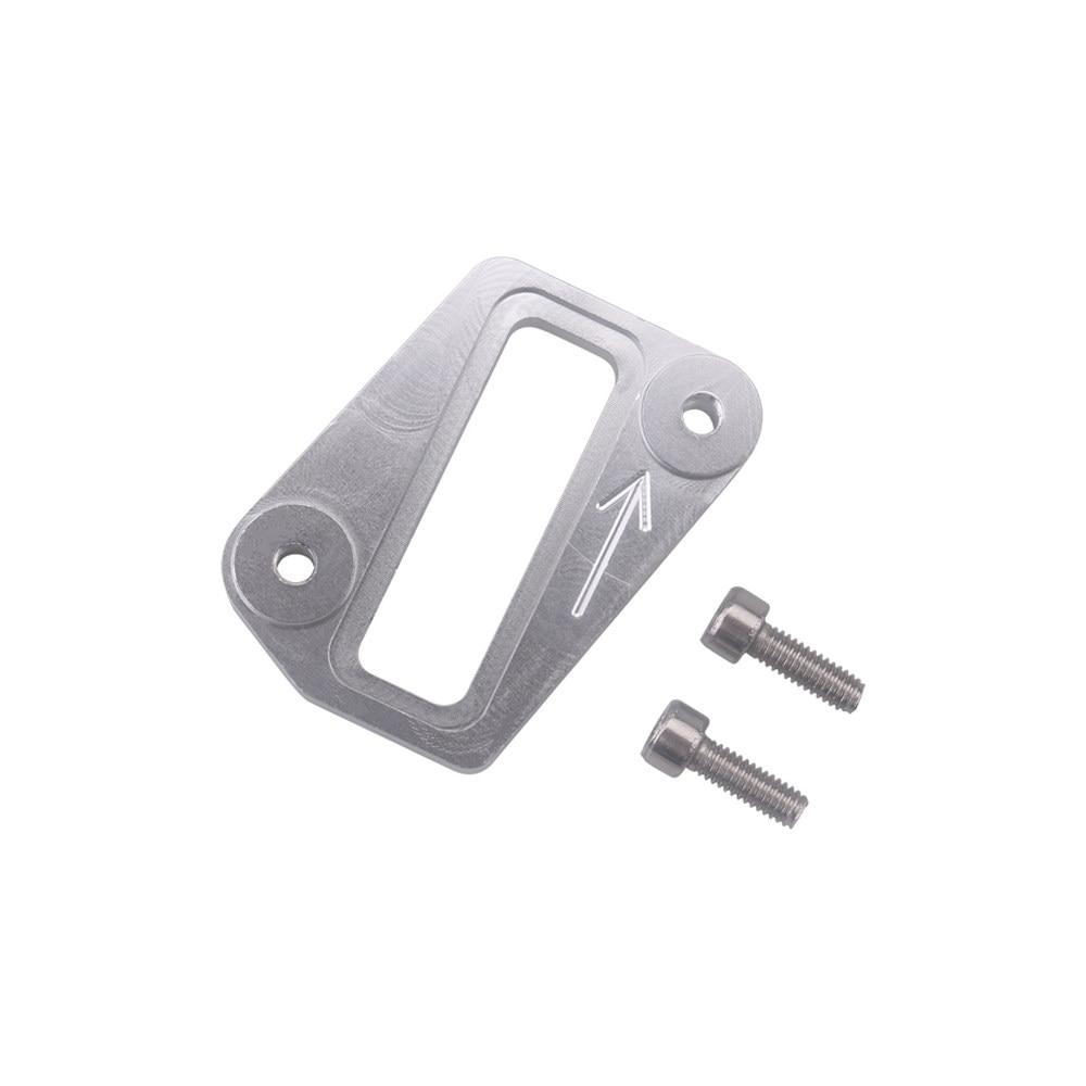 50mm Aluminum BOV Block Off Plate Cap Flange Adapter Plug Blanking Plate V-Clamp