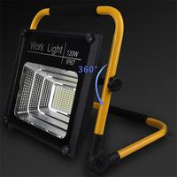 XANES 120W 120LEDs Remote Control Work Light Flood Lamp 2 Modes IP67 Waterproof Emergency Lantern Camping Torch Flashlight