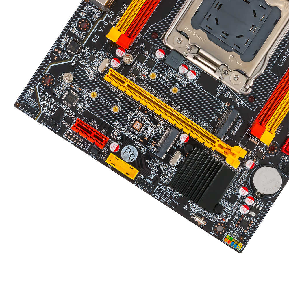 ALZENIT X79M-CD3 إنتل X79 اللوحة LGA 2011 سيون E5 دعم ECC REG DDR3 128 جيجابايت M.2 NVME NGFF SATA3.0 M-ATX خادم اللوحة الرئيسية