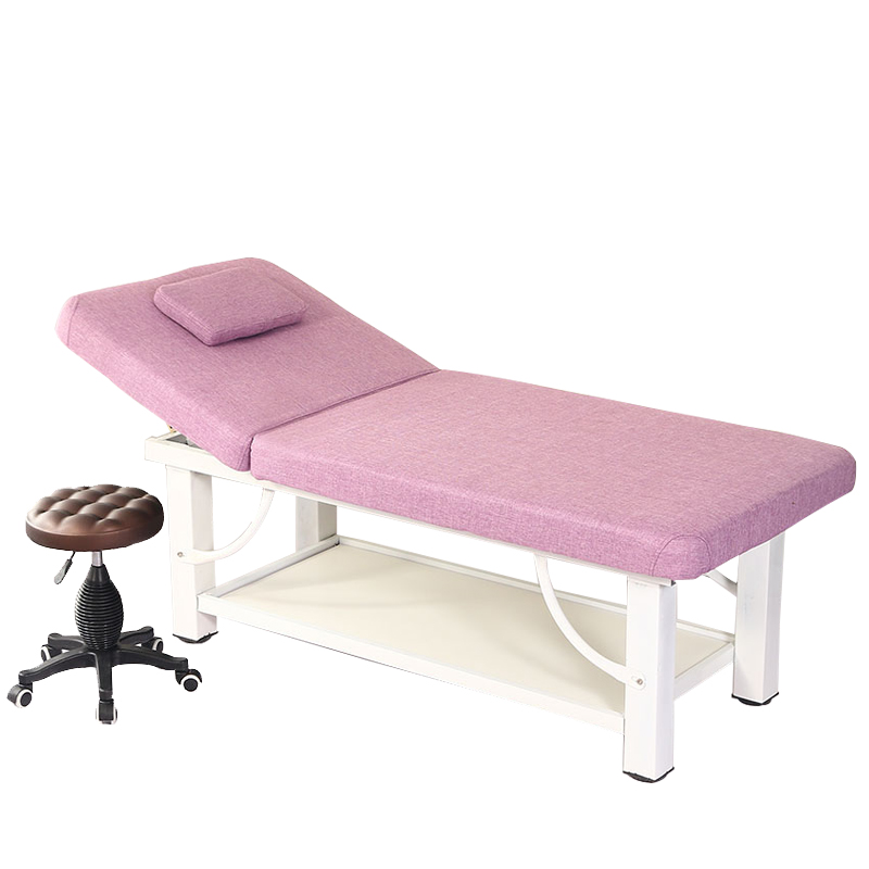 Bed For Beautybed Home Physiotherapy Bed With Holes Folded Tattoo Body Massage Bed Thickened Steel Structure Fine Steel