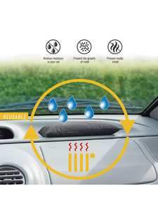Car-Dehumidifier Interior Desiccant Moisture-Damp-Absorber Color-Changing Non-Toxic Silicone