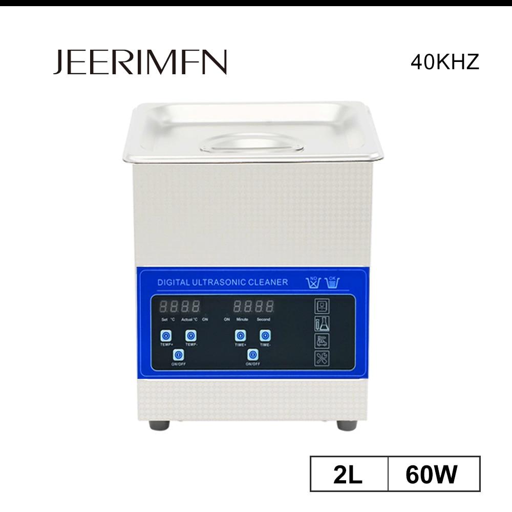 2l digital ultra sonic cleaner bath 60w tanque pcb placa peças de metal ultrason arruela molde desengraxar jóias sonic máquina limpeza