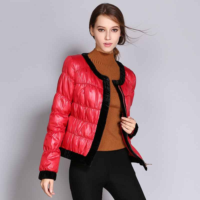 Winter short   jacket   women vintage cotton autumn women coat clothes fashion casual red warm ladies   basic     jacket   outwear ADR659