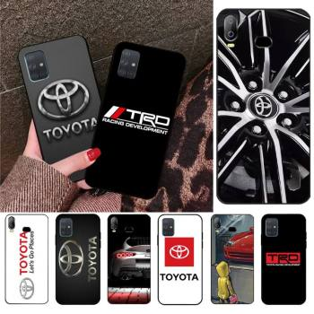 YJZFDYRM Wheel for Toyota car phone Case cover Shell For Samsung Galaxy A21S A01 A11 A31 A81 A10 A20 A30 A40 A50 A70 A80 A71 A51 image