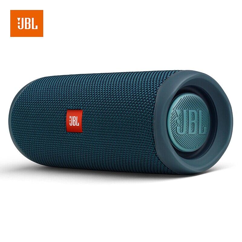 100% original jbl flip 5 alto-falante bluetooth mini portátil ipx7 à prova dwireless água sem fio ao ar livre estéreo música graves