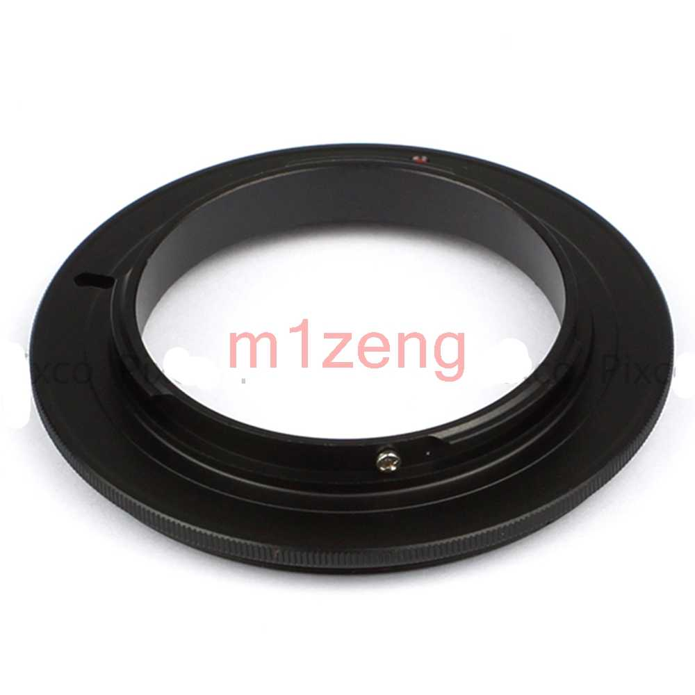 M43-49/52/55/58/62/67 Mm Macro Ngược Adapter Ring Cho Panasonic GX9 GX7 GX85 GF7 GM1 GH4 Olympus EM5 EM1II EM10 Camera