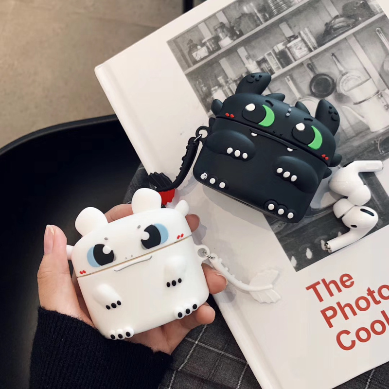 Cute 3D Silicone Case for AirPods Pro 3