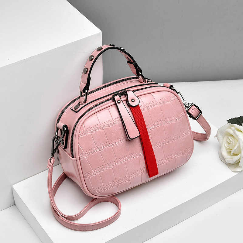 Baru 2019 Fashion Wanita Tas Satu Bahu Tas Kulit Korea Tas Bahu Kecil Flap Tas Selempang untuk Wanita Messenger tas