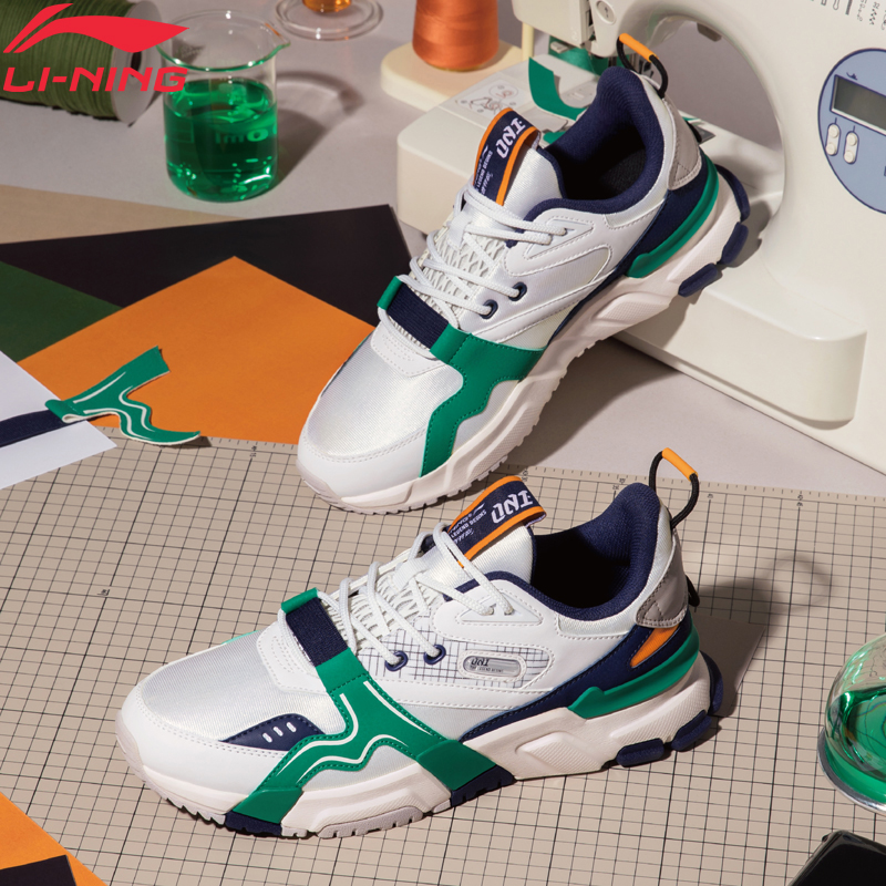 Li-Ning Men 001 R-2 The Trend Classic Lifestyle Shoes Retro Support LiNing Li Ning Sport Shoes Leisure Sneakers AGCQ005 YXB343
