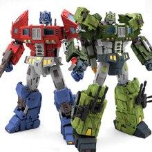 TFC Spielzeug STC 01A/B Supreme Techtial Kommandant OP Original Version Transformation Action Figur