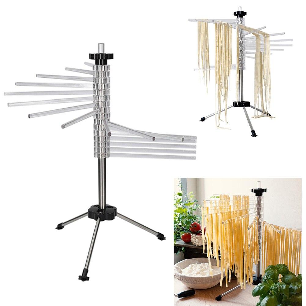 Держатель для лапши, подвесной, легко Очищаемый, для кухни, ручная сушилка для пасты, складная стойка для сушки пасты, аксессуары для спагетти, инструменты для домашнего вращения, нескользящая - 3