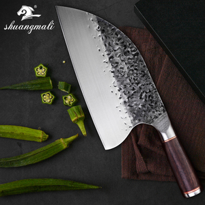 Image 1 - Butcher Knife stainless 5CR15MOV Steel  Chop  Chinese Cleaver  Kitchen Knife Chef Cooking Tools with Wooden handle