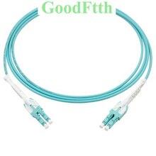 In fibra di Patch Fili Dd Lacci LC LC OM3 Duplex Uniboot con Pull Tab Asta GoodFtth 1 15m 16 pz/lotto