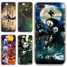 Nightmare Before Christmas Jack Sally Silicone Case For Samsung Galaxy Note 2 3 4 5 8 9 S2 S3 S4 S5 Mini S6 S7 Edge S8 S9 Plus(China)