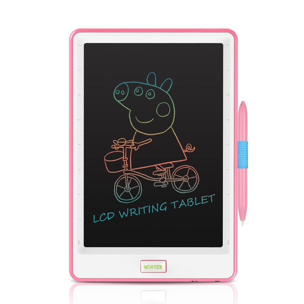 NeWYeS 10inch Kids Electronics LCD Drawing Graphic Tablets Colorful Sketch Pad Artist Writing Board with Pen Doodle Whiteboard
