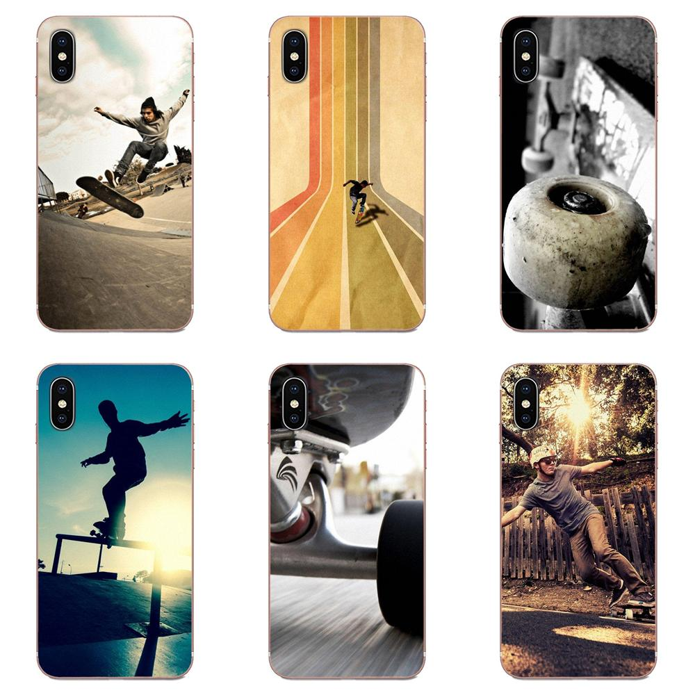 Extreme Sports Skateboarding Phone Accessories Case For Samsung Galaxy A51 A71 A81 A90 5G A91 A01 S11 S11E S20 Plus Ultra image
