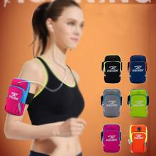 Outdoor Sport Running Case Armband Holder Bag Coin Storage Waterproof 6 Inch Mobile Phone Arm Band Bag Pouch On Hand For Iphone rotatable running bag phone arm case waterproof armband sport wrist bag belt key holder pouch for samsung iphone 8 x 4 6 inch