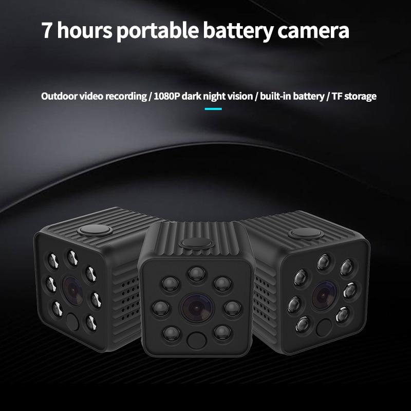 Mini Camera HD Camcorder 1080P USB Charge Infrared Night Vision Remote Monitor Outdoor Video Small Camera