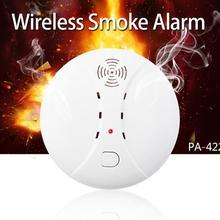 New 433mhz Fire Alarm Wireless Smoke Detector App Control Gas Smokehouse Smart Home Security