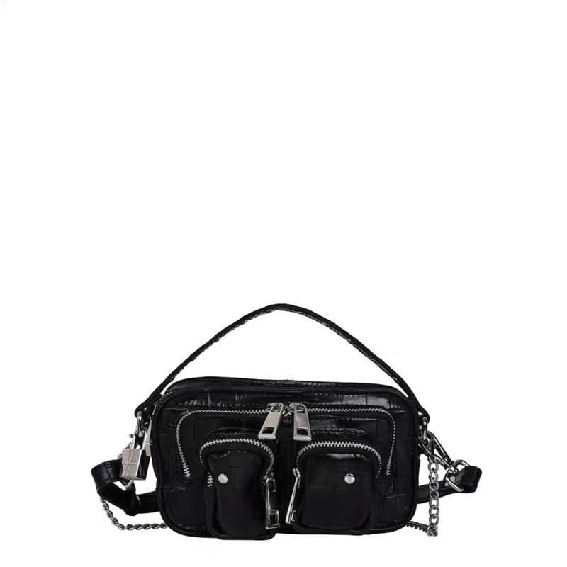 Vintage Women Crossbody Messenger Bag Fashion Alligator Bags Crocodile Shoulder Bags For Female Handbags Designer Bolsas