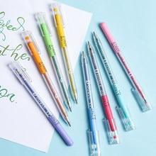 8pcs pennarello doppio scintillio coincidente glitter colore metallico evidenziatore disegno penne d'arte articoli di cancelleria per la scuola A6792