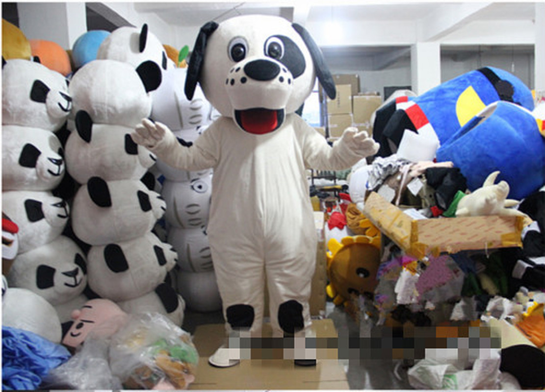Rompy Dog Mascot Halloween Brand Costume Party Cosplay Game Adults Size Outfits Hot Interesting Funny Cartoon Character Clothing