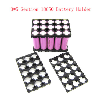 2 Pcs 3X5 18650 Battery Spacer Radiating Holder Bracket Electric Car Bike Toy Battery Holder image