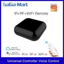 واي فاي IR RF تحكم عن بعد عالمي التحكم الصوتي المنزل الذكي الحياة الكل في واحد عن بعد متوافق تويا اليكسا جوجل الرئيسية