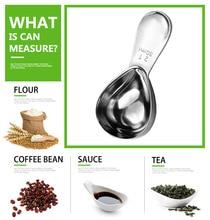 15/30ml Stainless Steel Measuring Spoon Cute Tea Coffee Scoop Kitchen Measure Tools For Milk Powder