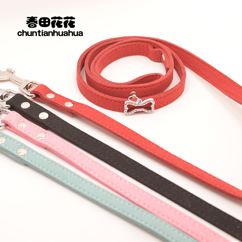 Small And Medium-sized Dogs Dog Hand Holding Rope With Teddy Bichon Schnauzer Dog Rope Dog Chain Supplies Single Traction