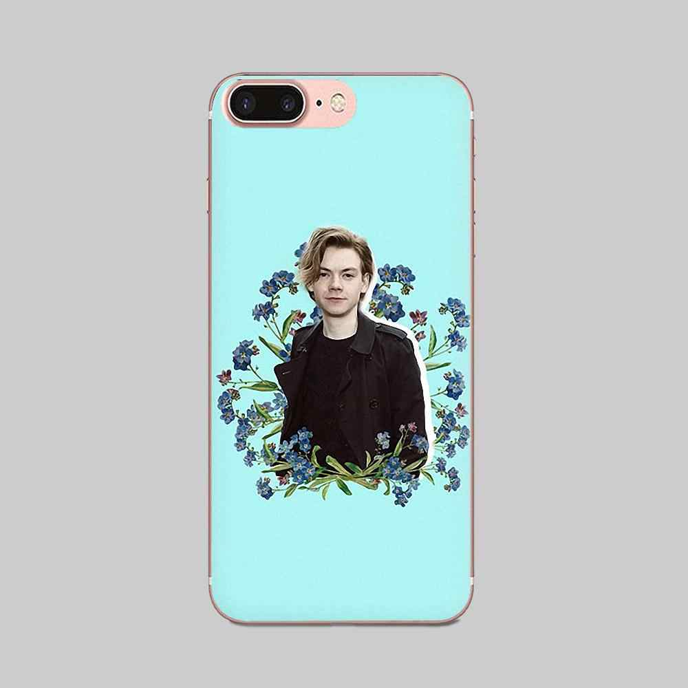 Thomas Sangster For Xiaomi Redmi Note 2 3 3S 4 4A 4X 5 5A 6 6A Pro Plus Transparent Soft Shell Covers