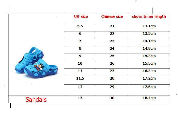Çocuk terlik 2019 yaz çocuk sandalet bebek ve terlik kızlar ayakkabı çocuk delik ayakkabı kaymaz sandalet