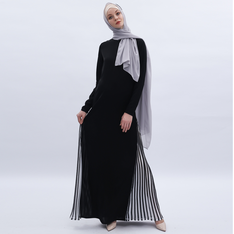 Black Abaya Turkish Dubai Hijab Muslim Dress Kaftan Islamic Clothing Abayas For Women Caftan Robe Dress Djelaba Tesettur Elbise