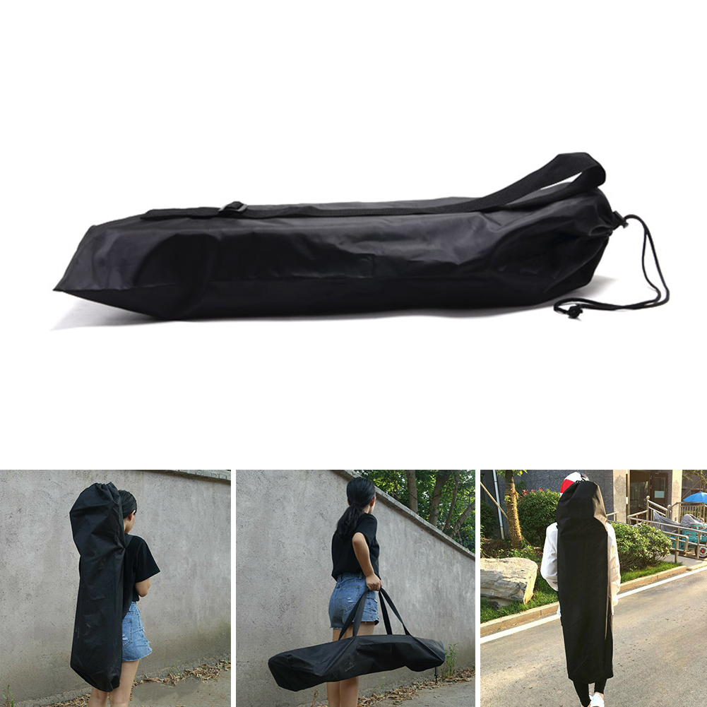 Waterproof Skateboard Bag Longboard Backpack Black Single Shoulder Outdoor Travel Oxford Cloth Protection Thickened Accessories