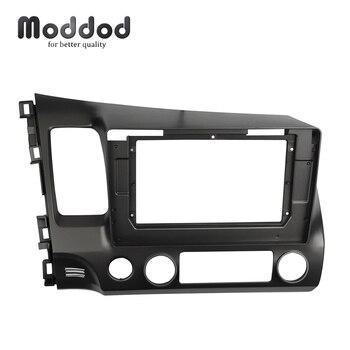 Автомобильный радиоприемник 10,1 дюйма с двойным Din, фасции для HONDA CIVIC SEDAN, стерео панель, монтажная установка, комплект обшивки, лицевая рамка,...