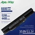 Apexway Аккумулятор для ноутбука ASUS K53S K53E A32-K53 A42-K53 A31-K53 A43 A53 K43 K53 K53U X43 X44 X53 X54 X84 X53SV X53U