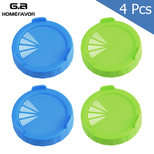 4 or 2 Sprouting Lid Food Grad