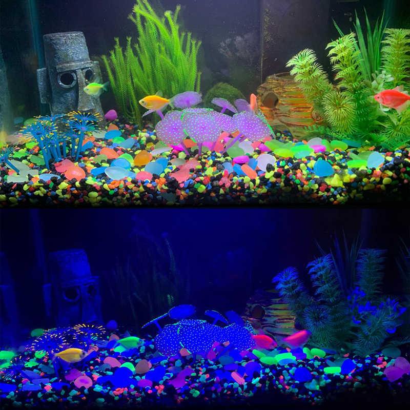 25/50 Stuks Home Decor Glow In The Dark Pebbles Glow Stenen Tuin Lichtgevende Stenen Kerst Halloween Decor Huis fish Tank Decor