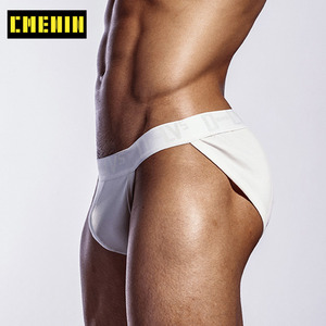 Hot Sale Cotton Sexy Gay Men Underwear Bikini Men Briefs Letter Soft Mens Briefs Underwear Shorts Innerwear OR214