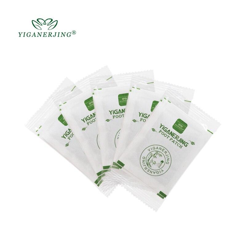 YIGANERJING 10 шт./пакет пластыри колодки тела токсинов Фут Патч для похудения Очищение HerbalAdhesive