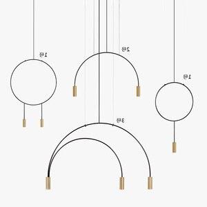 Nórdico moderno ouro led pingente luzes quarto sala de jantar cozinha hanglampen voor eetkamer e27 lâmpada led edison luz