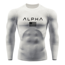 New Men's RunningT-shirts Compression long sleeve Quick Dry Snake Gym Tights Fitness Mens Rashgard Soccer Jersey Ropa deportiva