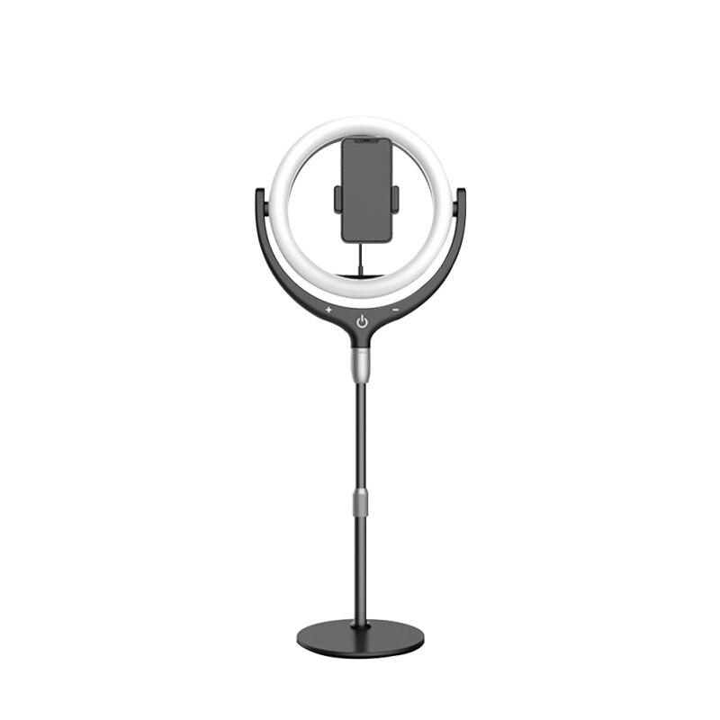 Anneau de téléphone remplir la lumière Selfie vidéo Photo lampe support de smartphone réglable - 3