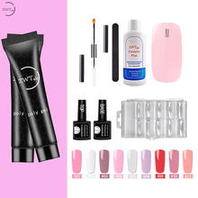 ZWTale 15ml Poly Gel Kit 9 Colors UV Nail Polish Quick Building For Nails Extension Varnish With Tools