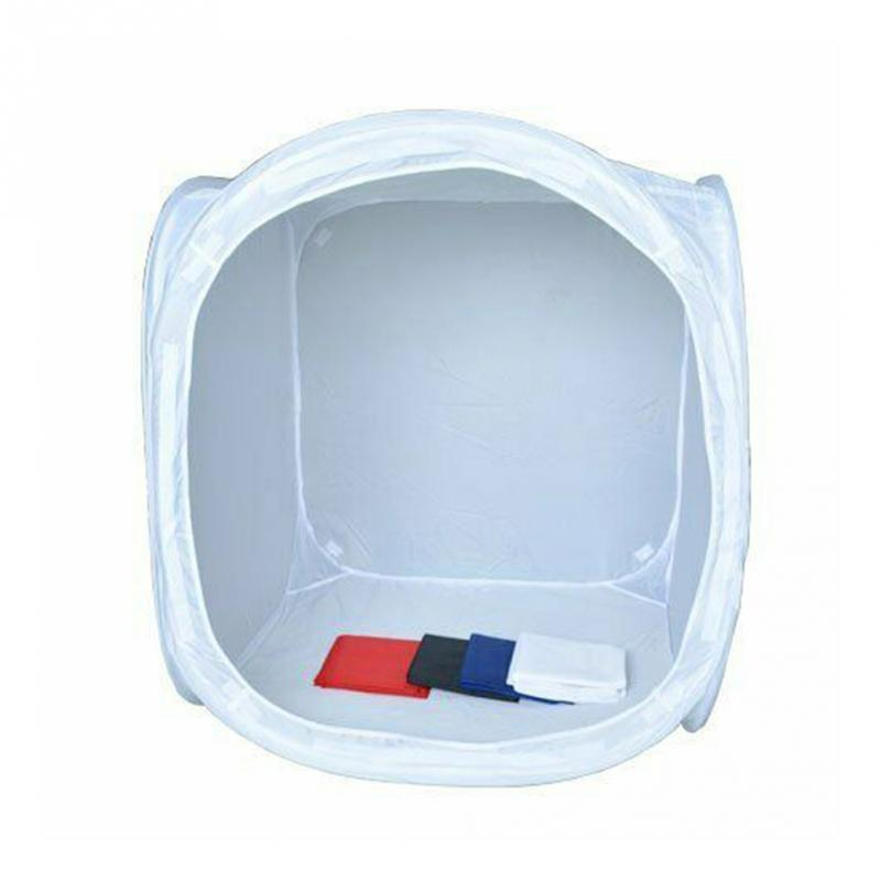 50CM Photography With Bag Portable Shooting Foldable Photo Light Box Studio White