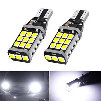2x Canbus 921 T15 W16W LED Bulbs Car Backup Reverse Light For BMW E60 E90 E91 Ford Fiesta Fusion Focus Mazda 3 5 6 CX-5 White image