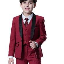 Boys Suits Costume Blazer Mariage-Suit Weddings Kids Nimble for Enfant Garcon 3pcs/Set